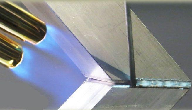 Soldadura con Aluminio
