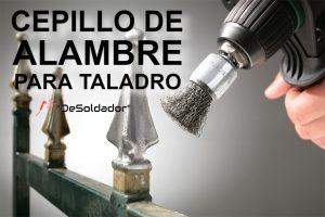 Cepillo de Alambre para Taladro